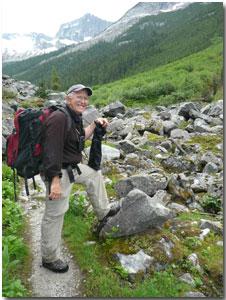 John Woods, photographer of Nakimu Caves in Amazing British Columbia